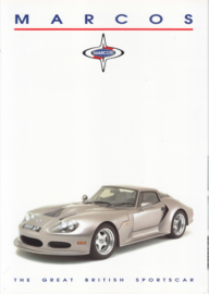 LM500 V8 Spyder & Coupé, 6 page glossy brochure, about 1995, English language