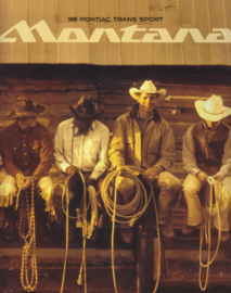 Trans Sport Montana 1998 models, 36 pages, USA