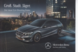 CLA Shooting Brake, A6-size double-side postcard, German language, about 2015