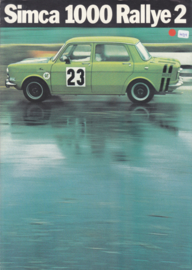 1000 Rallye 2, 6 pages, 9/1972, Dutch language