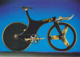 Pursuit Bicycle, 2 page leaflet, A4-size, factory-issued, English
