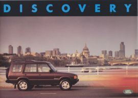 Discovery brochure, 22 pages, English language, # LR/669, about 1993