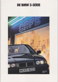 3-Series Sedans brochure, 50 pages, A4-size, 2/1991, Dutch language