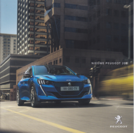 208 Hatchback brochure, 12 pages, Dutch language, 03/2019