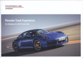 Track Experience brochure, 16 pages, 2020, Dutch language