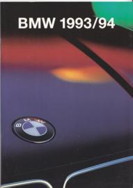 Program 1993/94 brochure, 48 pages, A5-size, 2/1993, Dutch language
