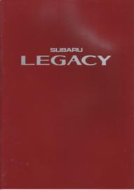 Legacy brochure, 38 pages, Dutch language, 1989