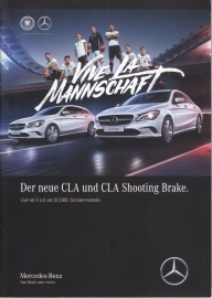 CLA/A/B/GLA SCORE! special editions brochure, 24 pages, A5-size, 07/2016, German language