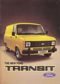 Transit Van brochure UK, 22 pages, 03/1978, English language