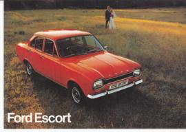 Escort brochure, 8 pages, 8/1972, Dutch language
