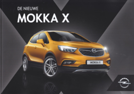 Mokka X brochure, 40 pages, 08/2016, Dutch language
