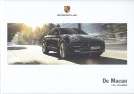 Macan model brochure, 136 pages, 03/2015, hard covers, Dutch
