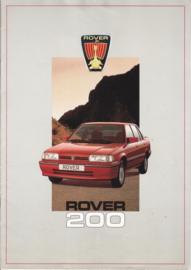200 brochure, 20 pages, A4-size, about 1981, Dutch language