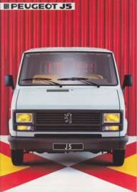J5 Commercials program brochure, 32 pages, A4-size, 1984, Dutch language