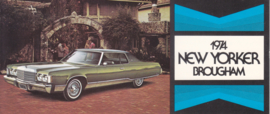 New Yorker Brougham, US postcard, large size, 1974