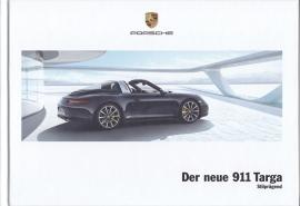 911 Targa 4/4S brochure, 108 pages, 10/2013, hard covers, German