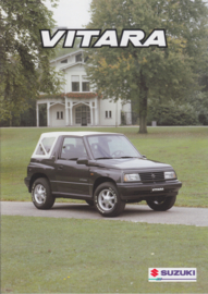 Vitara brochure, 16 pages, #61094, 10/1994, Dutch language