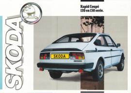 120/130 Serie 2-Door Coupe leaflet, 2 pages, Dutch language, about 1985