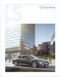 LS 500h brochure, 52 pages, 01/2018, Dutch language