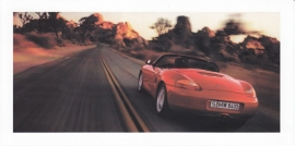 Boxster S,  foldcard, 2000, unnumbered (US)