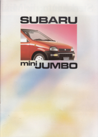 Mini Jumbo brochure, 12 pages, Dutch language, 1990, Belgium