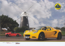 Elise Sport and 220 Sport, 4 pages, DIN A4-size, factory-issued, English language