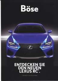 RC Coupe postcard, DIN A6-size, German, 2014