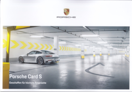 Card S brochure, 24 pages, 09/2017, German language