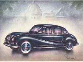 BMW 502 Sedan 1955, Full Speed, Dutch language, # 93