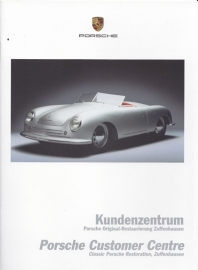 Classic restauration brochure, 20 pages, 07/2005, German/English