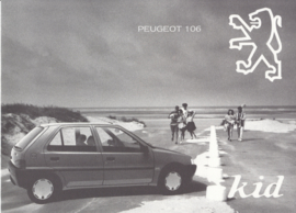 106 Kid brochure, 6 pages, 10/1993, French language (Belgium)