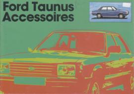 Taunus accessories brochure, 12 pages, 9/1979, Dutch language