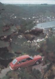 411 4-door postcard, DIN A6-size, unused, # 157.186.00