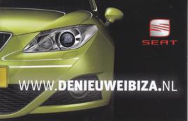 Ibiza mini brochure, 12 pages, Dutch language, about 2014