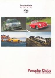 Porsche Clubs brochure, 16 pages, WVK 809 420 04, 02/2004, English