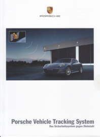 Vehicle Tracking System brochure, 6 pages, 08/2009, German