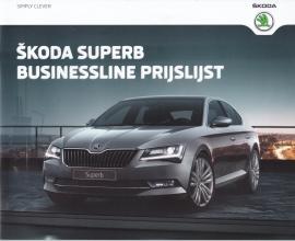 Superb Business Line pricelist, 24 pages, Dutch language, 2015