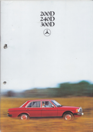 200D/240D/300D Sedans brochure, 48 pages, 02/1979, Dutch language