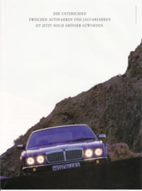 Sedan 4.0 brochure, 4 pages, about 1990, German language