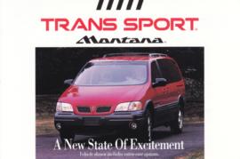 Montana Trans Sport, 1997, continental size, USA