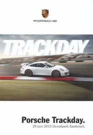 Track Day Zandvoort brochure, 6 pages, 2015, Dutch language