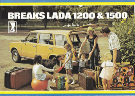 1200/1500 Breaks brochure, 8 pages, about 1978, Dutch language (Belgium)