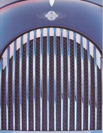 Aero 8 V8 4.4 L brochure, 4 pages, DIN A4-size, English language, about 2006