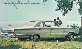 Montclair Hardtop Marauder, US postcard, standard size, 1964