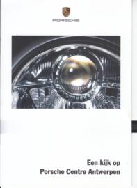 Porsche Center Antwerp brochure, 8 pages, about 2008, Dutch language