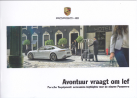 Panamera new model tequipment brochure, 24 pages, A5-size, 06/2016, Dutch