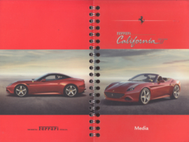 California T Media booklet, spiral bound, English language, 2014
