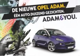 Adam brochure, 4 pages, 2013, Dutch language