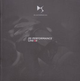 DS performance line brochure, 24 pages, 01/2017, Dutch language