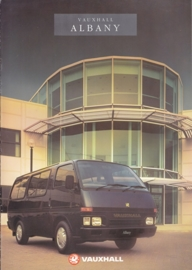 Albany Mini Bus brochure, 10 pages, English language, B5033, 09-1990, UK